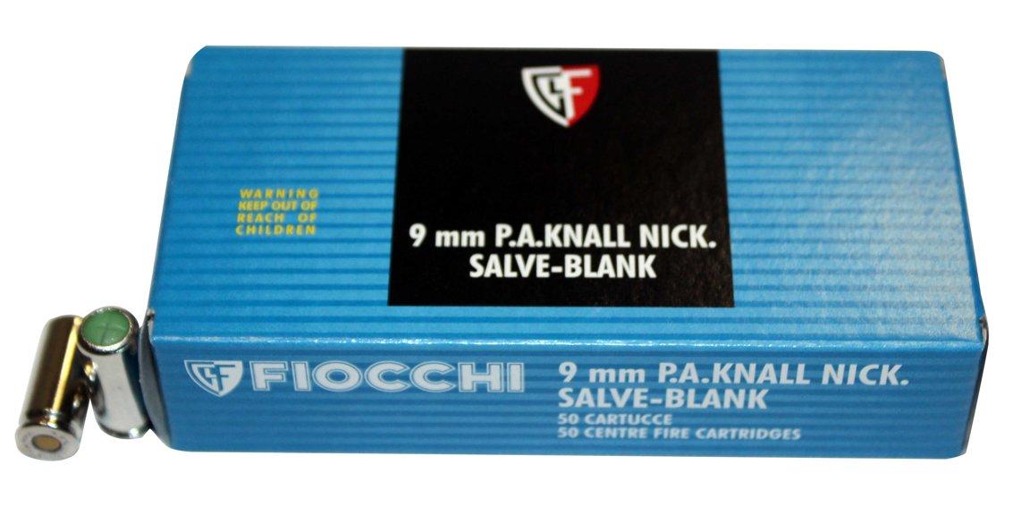 9mm P.A.K. FIOCCHI Skaņas patronas