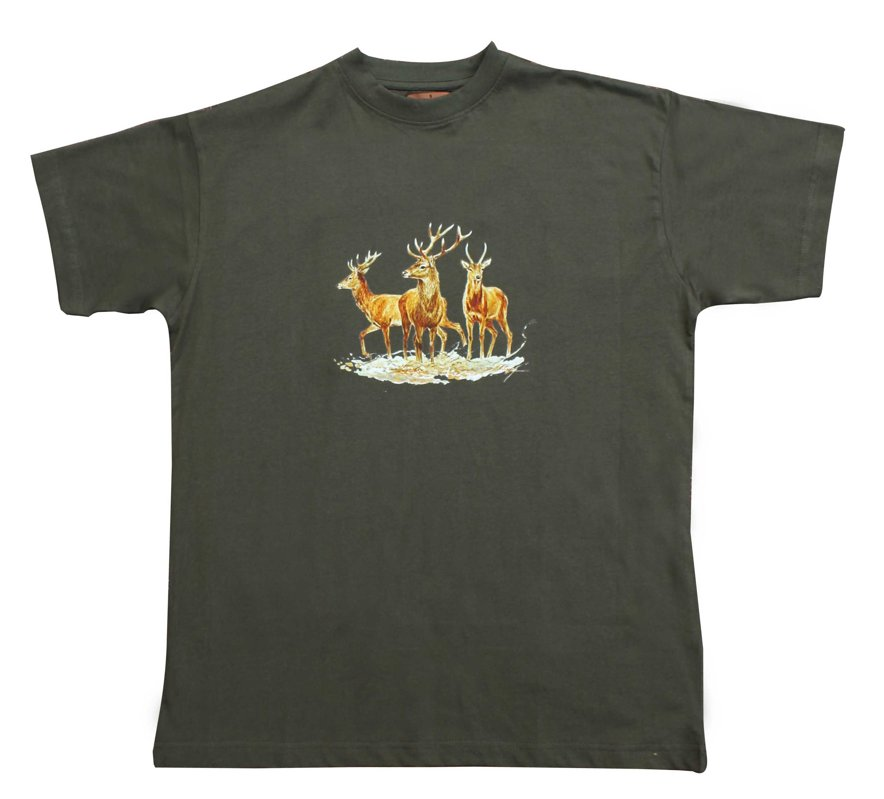 T-krekls ar 3 briežiem
