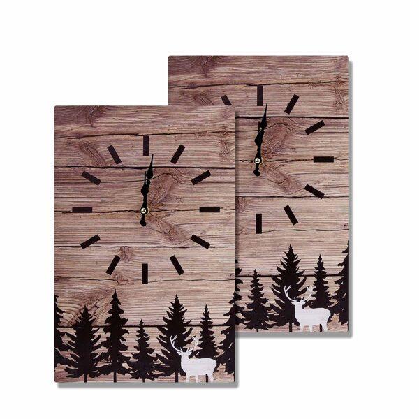 Metāla sienas pulkstenis