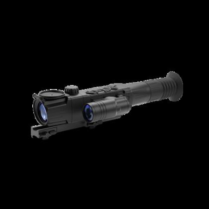 Pulsar Digisight Ultra N455 tēmēklis ar Weaver stiprinājumu QD112