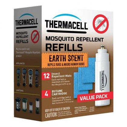 Thermacell pretodu ierīces papildināšanas komplekts ar zemes smaržu 48h,